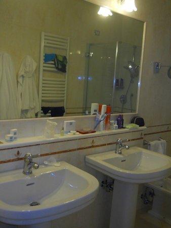 Hotel Terme Tritone Thermae & Spa: bagno camera