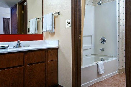 هوثورن سوتس باي وندام هولاند/توليدو إريا: Studio King Suite Bathroom