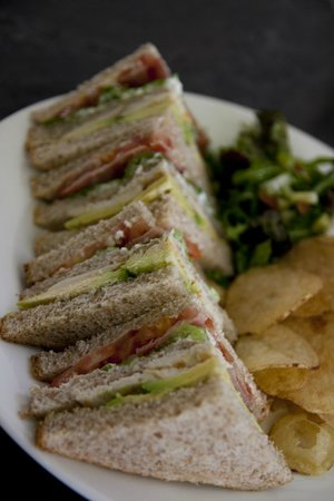 Stables Kitchen: Club sandwich