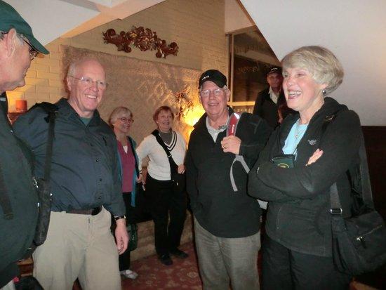 Hostal Villa Toscana: Mr. and Ms. Hoffman