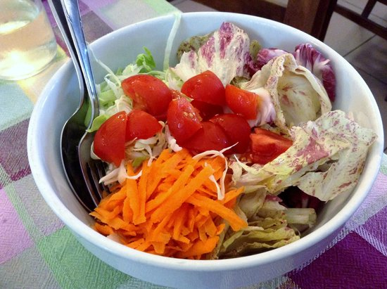 Trattoria Dall'Angelina: Mixed Salad