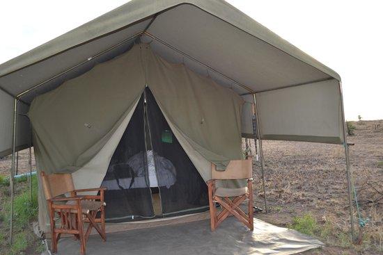 Pumzika Safari Camp: entrada mi super tienda de lujo