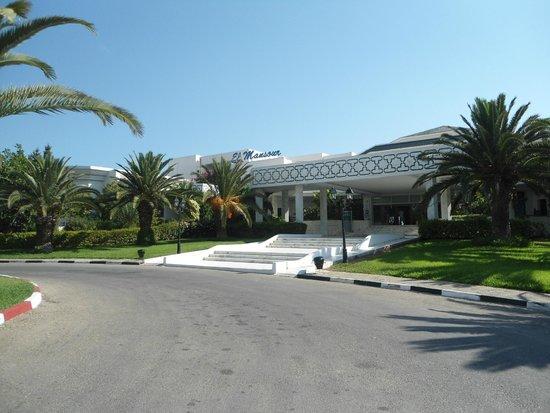 فندق ريو المنصور: Hotel Entrance