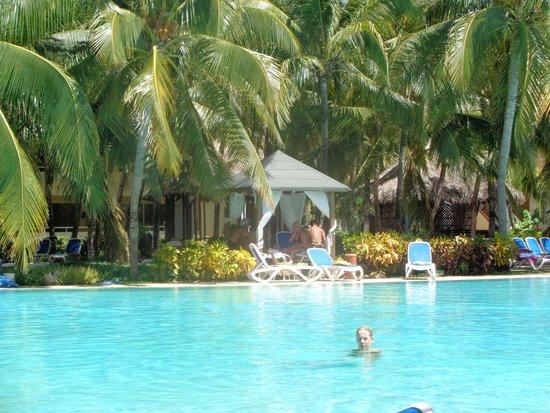 Paradisus Varadero Resort & Spa: PAILLOTTE VUE DE LA PISCINE