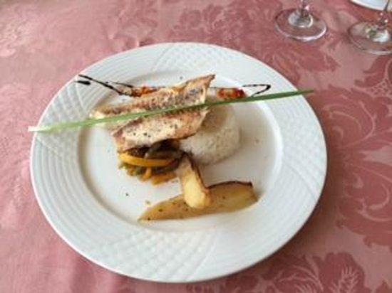 Memories Flamenco Beach Resort: diamond club a la carte lunch