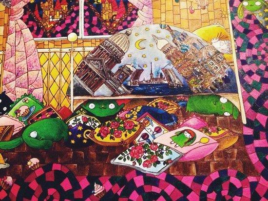 Taiga: Да, мы загадочны! :) Ищите элементы ТАЙГА хостел даже на наших картинах!)