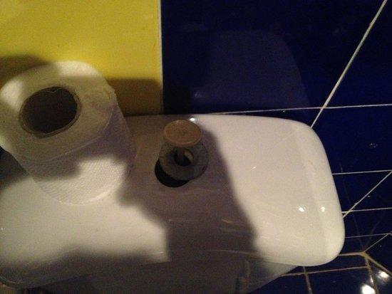 Karma: broken toilet
