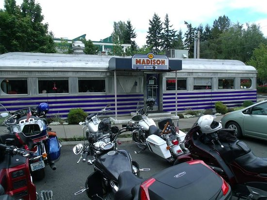 Madison Diner: Great old dining car