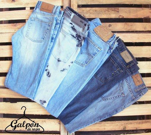 Galpon de Ropa: Old Shcool Jeans!