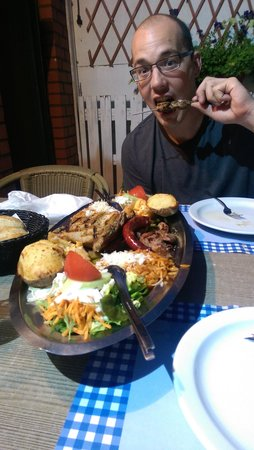 El Greco Roeselare bij Yannis: mixed grill for two!