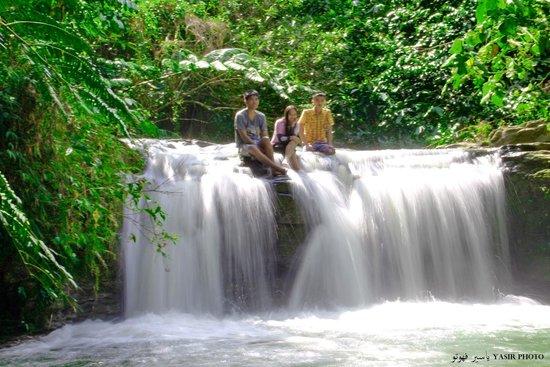 Calbiga Falls: Upper Calbiga Falls