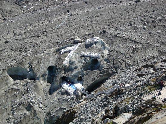 Montenvers - Mer de Glace Train: grotte de glace