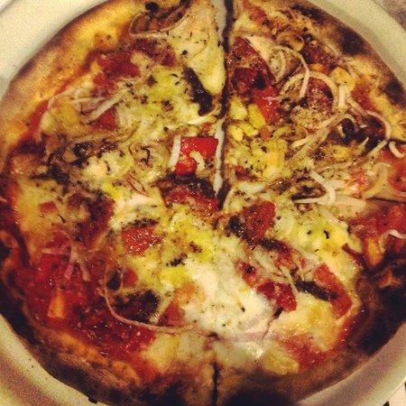 Osteria Lo Bianco notarbartolo: Pizza campagnola