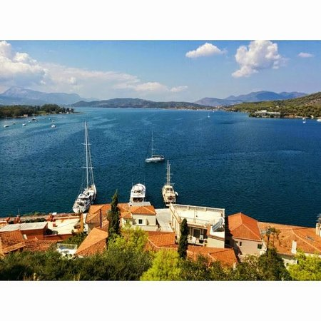 Evermore Cruises - One Day Cruises: The view from the clock tower at Poros