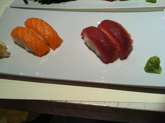 Magnolia Sushi & Pizza: Nigiri tonno e salmone