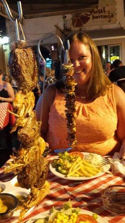 La Tahona: Kebabs!