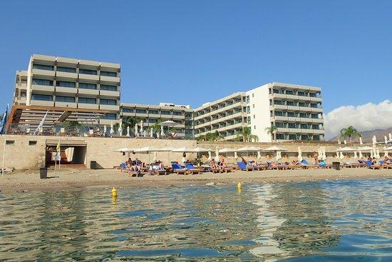 أليموندا ماري: Hotel zicht van de zee