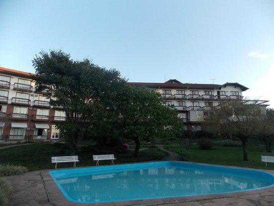 Hotel Alpestre: Vista da varanda do apto 231.