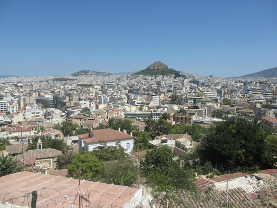 Crowne Plaza Hotel - Athens City Centre: Nive view from our room