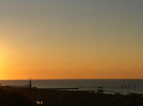 Spiaggia di Jesolo: tramonto