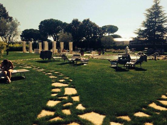 Hotel Salus Terme: Piscine esterne
