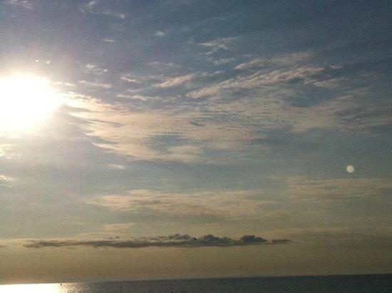 Spiaggia di Jesolo: Alba