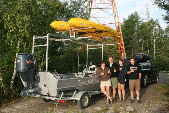 Twin Maple Outdoors: Water Based Kayaking and Moose Safaris