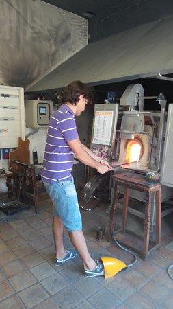 Teatro San Gallo: мастер стекла
