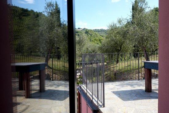 Agriturismo Brasino: terrazzo di una camera