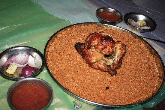 Mohammed Noor: Pollo e riso