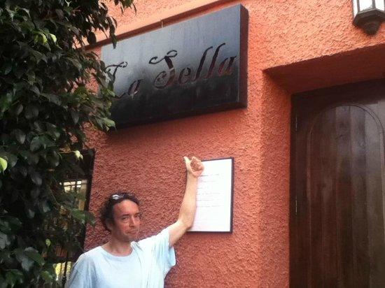 La Sella : me on the outside...