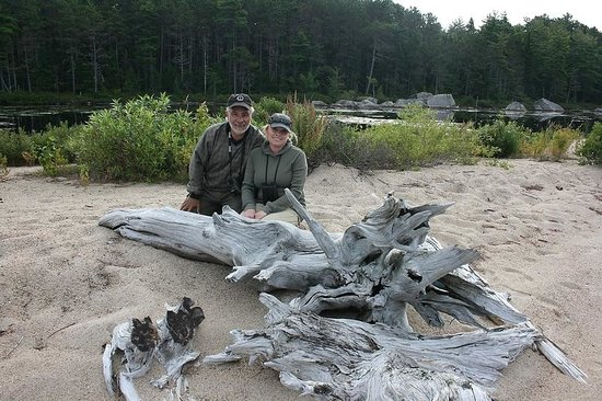 Twin Maple Outdoors: Beach on Remote Lake