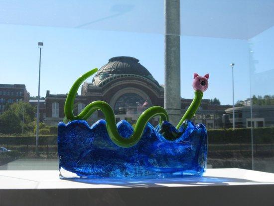 Museum of Glass: On the bridge