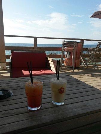 La Plage d'Argent: cocktails