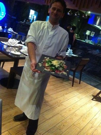 Ruffino Restaurant & Lounge: Chef Andrea intoduces his creation