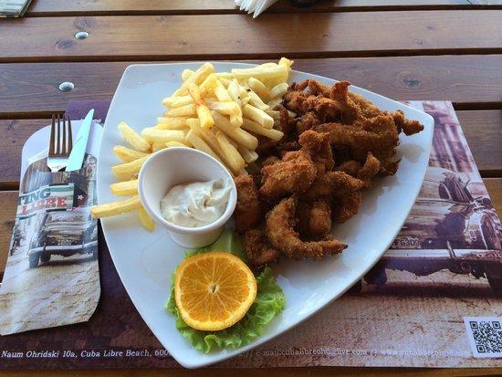 Cuba Libre Beach & Bar: Chicken Fingers