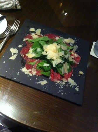 Ruffino Restaurant & Lounge: Beef carpaccio