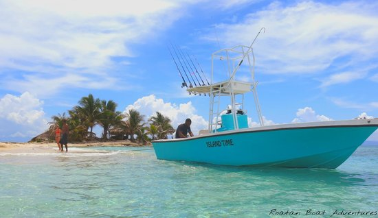 "Roatan Boat Adventures: ""Island Time"""