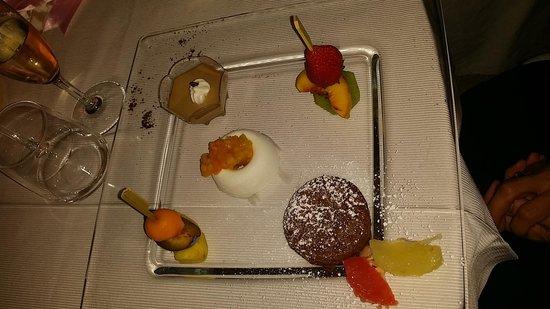 Casa Freda Restaurant: una parte dei dolci
