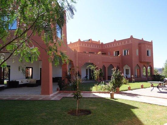 Kasbah Mansour: Le patio - Kasbah Mansour
