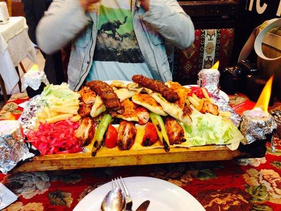 ANTAKYA Restaurant: The meal Saray Kebab
