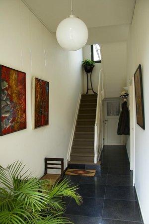 B&B De Brug: entrance