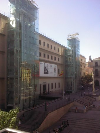 Hotel Mediodia: View from the hotel