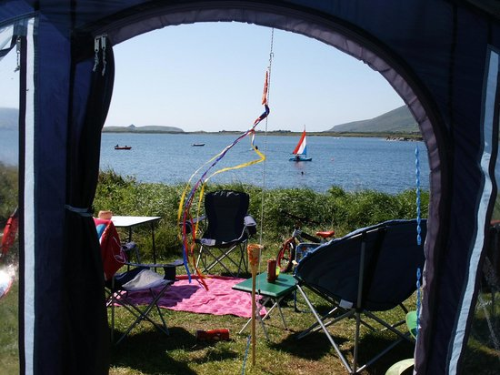 ‪‪Mannix Point Camping and Caravan Park. (Mortimer's)‬: The view from our tent‬