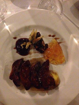 La Yedra: Foie auf Mango