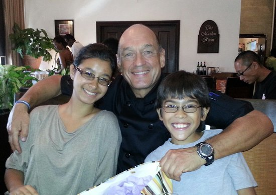 Jaffa at the Oval: Patron Chef Joe Brown at Jaffa on his 40th with my darlings