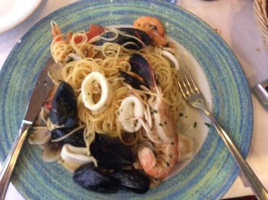 La Scogliera: seafood pasta