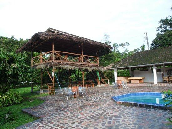 Jungle Lodge El Jardin Aleman: Sehr schöne Anlage, mit Pool