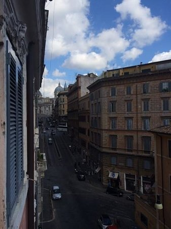 Hotel De Monti: view from our room