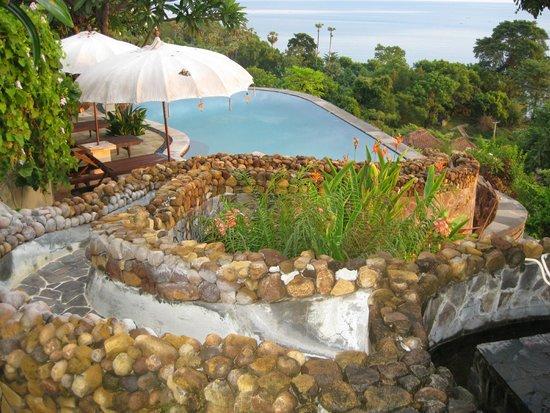 Bedulu Resort: bazén